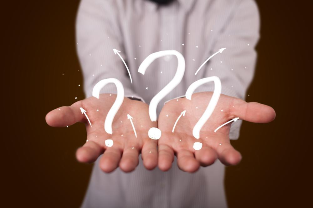 image of individual with questions