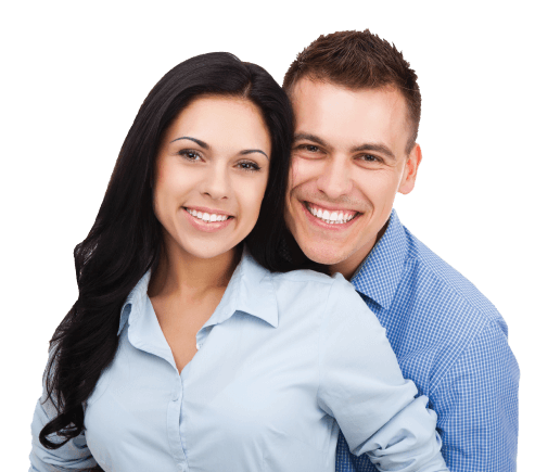 Middletown Dental | Man and Woman Smiling